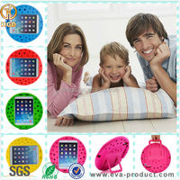 Kids safe friendly shockproof silicone case for ipad mini cover with stand