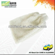 microfiber chenille car cleaning glove mitt / 100% Microfiber Bath Gloves/Mitts / Synthetic Wool Wash Mitt A