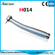 Push button dental high speed handpiece with exposed cartridge H014