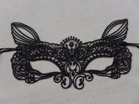 LS-035 Yiwu Candyfunny masks for kids christmas decorations mask black lace wholesale masquerade masks
