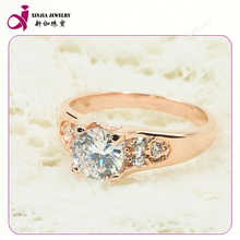 Fashion design 18k rose golden china factory direct wholesale jewelry ring