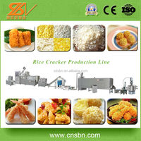 Efficient Automatic Extruder Making Equipment/Industrial Bread Crumbs Snack Food Production Line