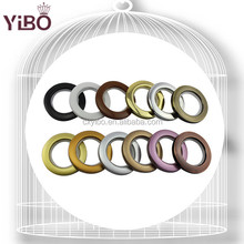 decorative durable plastic curtain eyelet ring for poles