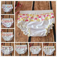 wholesale 100% cotton pp bloomers kids thong underwear