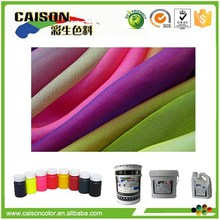 CD-7010 Eco Friendly pigment colorant for silk fabric dyeing with one bath