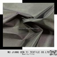 100% polyester pu coated taffeta lining for luggage