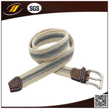 Fashion Candy Braided Belts for Adult , Braided PU Leather Belt
