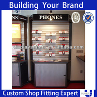 popular mobile phone display cabinet in Australia easy to shipping