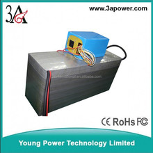 60v 100ah lifepo4 battery packs factory custom for electric car Sightseeing car batteries with bms and charger