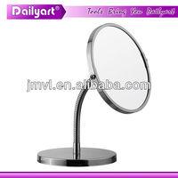 (V041004) metal chromed cosmetic mirror