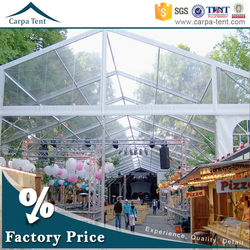 15x30m hot sale arabic style big durable outdoor wedding party marquee made in china for 1000 peolpe