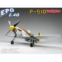 rc fiberglass model airplane P-51D Gunfighter Commemorative Edition china model productions rc airplanes