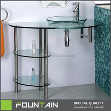 Import and Export Glass Wash Basin Narrow Shoe Cabinet