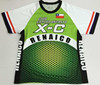 Lively free customized made running shirts/outdoor sport clothing/mainly sublimated printing
