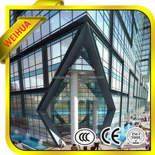 Article Separated insulated glass/vacuum insulated glass
