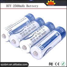 Best 2500mAh AA 1.2V Ni-MH AA Rechargeable Battery