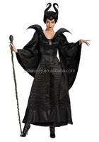 maleficent christening black gown costume fancy dress costumes for sale QAWC-2768