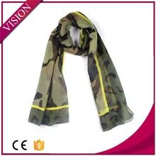 Summer fashion military camouflage scarf