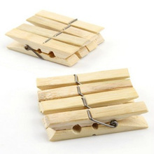 Wholesale Best Grade Wooden & Bamboo Clothes Pegs