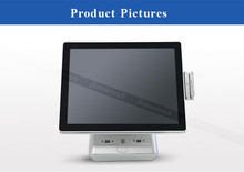 All-in-one Restaurant POS Terminal with Dual Touch Screen