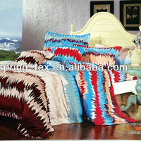 100% Cotton fashion style reactive printing bedding set for adult and children