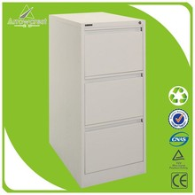 2015 hot selling factory cheap office file size 3 drawer cabinet