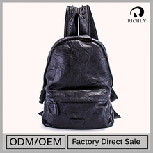 The Most Popular Custom Made Direct Factory Price Leather Backpack Handcrafted