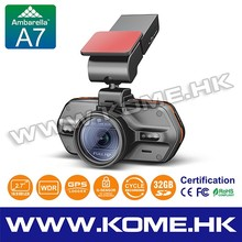Super HD Car Camera with Speed Camera detector & GPS loggr CR700_A7