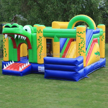 Dangerous Crocodile Inflatable Bouncy Castle, inflatable jumper, inflatable jump castle