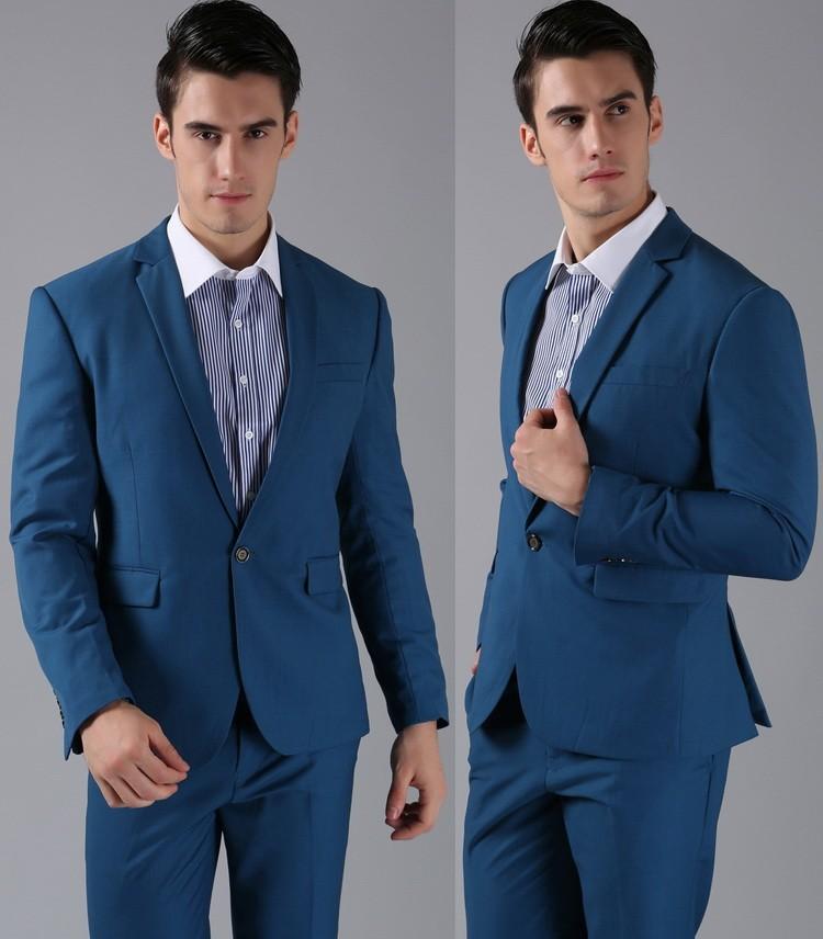 HTB1nkloFVXXXXbyXXXXq6xXFXXXF - (Jackets+Pants) 2016 New Men Suits Slim Custom Fit Tuxedo Brand Fashion Bridegroon Business Dress Wedding Suits Blazer H0285