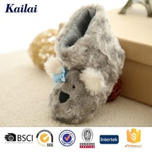 classic polar fleece animal baby shoes from China