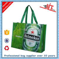 wholesale pp shopping non woven bag eco bag for beer