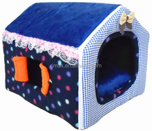 RIMAX Unique Super Warm Soft Fleece Puppy Pets Cat dog house kennel