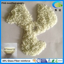 Engineering plastic SGS certificated polyamide pa6 30% glass fiber filled reinforced pa6 resin coumpound