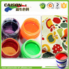 new products Eco friendly color pigment for polka dot fabric coloring