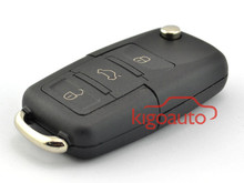 Folding Remote key 1JO 959 753 DJ for VW 3 button HU66 315Mhz car key