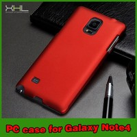 Mobile Phone Matt Hard PC Plastic Case Cover For Samsung Galaxy Note 4