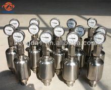NXQ hydraulic bladder accumulator in high standrad for hydraulic machinery