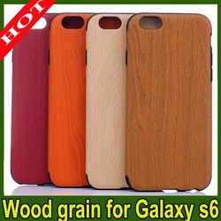 2015 HOT SELLING TPU Mobile Phone / Wood Grain Case For Iphone 5/5s 6/6 plus
