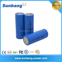 3.7v 1200mah rechargeable battery 18650 power tools use li-ion 18650 battery