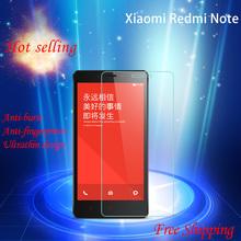 High definition 2.5d round corner edge custom mobile phone accessories for xiaomi redmi note