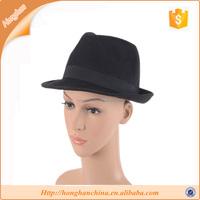 Fuschia/black Church Hat,Derby Hat