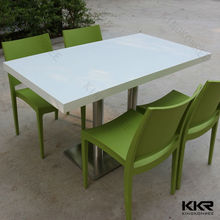 Royal modern italian solid surface dining table sets