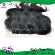 cheap human hair body wave top silk base closure three parting lace closure brazilian weave