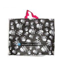 2015 custom raw plastic material supermarket clear plastic bag