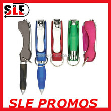 Multifunctional promotion gift pen with nail clipper