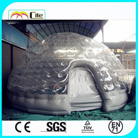 CILE 2015 hot selling inflatable bubble tent / inflatable dome tent / inflatable tent