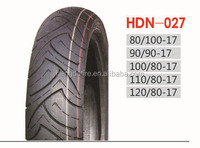 Motorcycle Tire HDN027, 100/80-17