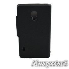 Luxury Leather Wallet Flip Cover For LG Optimus L7 II Dual P715 Case