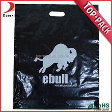 Wholesale recycle cheap durable custom die cut plastic tote bag